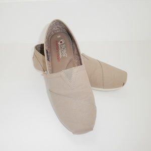 Autumn Taupe BOBS Apargata Skechers Slip On Shoes